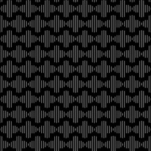 Lined Quatrefoil Seamless Repeat Pattern Background