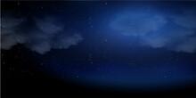 夜空 ハロウィン 風景 背景