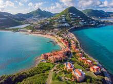 The Caribbean Island Of St. Maarten .