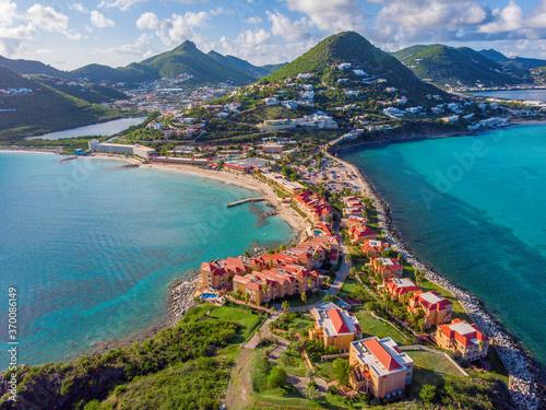 Fotografie, Tablou The caribbean island of St. Maarten .