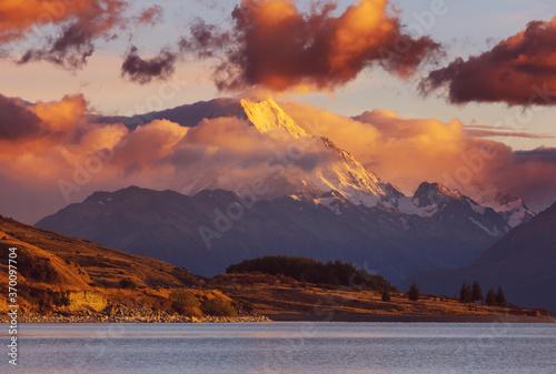 Obraz Mt Cook - fototapety do salonu