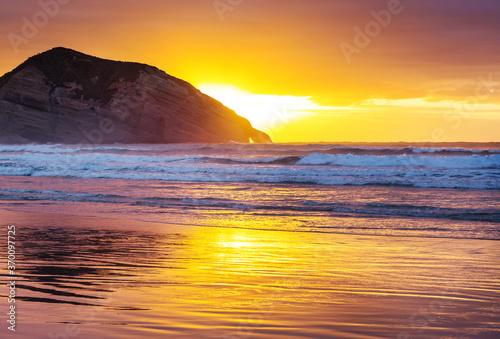 Obraz New Zealand coast - fototapety do salonu