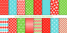 Christmas Seamless Pattern. Ve...