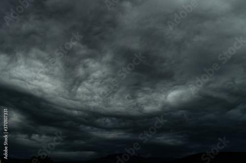 Fototapeta The stormy summer evening