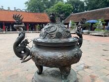 Urne D'un Temple à Hanoï, Vietnam
