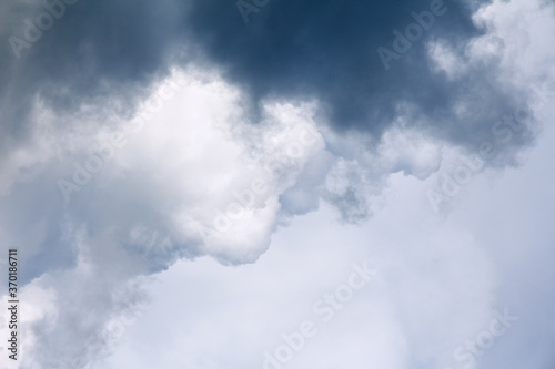 Fotografie, Obraz Dark  storm clouds