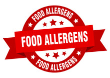 Food Allergens Round Ribbon Is...
