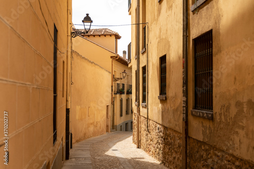 Fotografering An alleyway in Spain