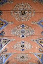 Voûte à Fresque De La Confrérie Saint Antoine à Santa Reparata Di Balagna, Corse