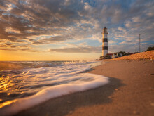 Low Point View To Lighthouse W...