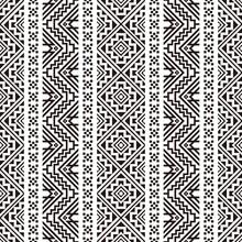 Seamless Ethnic Pattern Textur...