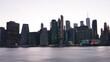 landscape of lower manhattan NYC