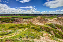 Horse Thief Canyon Outside Of Drumheller Alberta