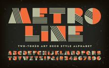 Metro Line; A Vector Alphabet ...