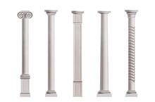 Antique Columns 3d Realistic V...