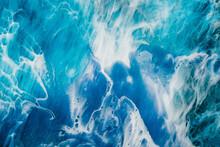 Acrylic Ink Water. Sea Foam. C...