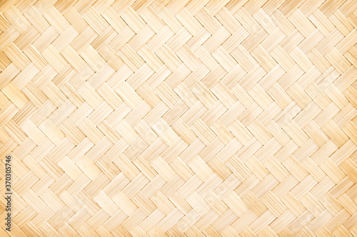 Fotografija Light brown bamboo wood seamless pattern background