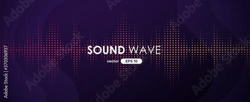 Fotografie, Obraz Sound wave