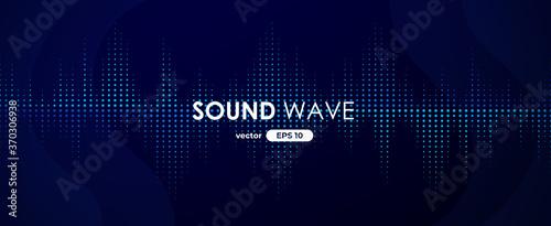 Cuadros en Lienzo Sound wave