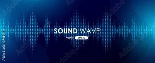 Fotomural Sound wave