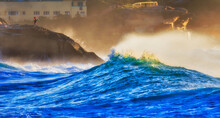 Sea Bronte Fisher Cliff Wave