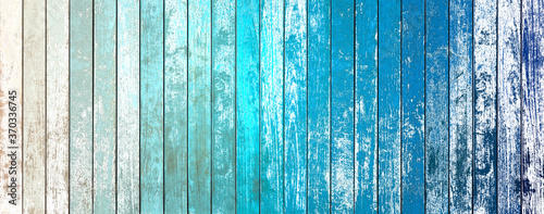 Fotografija abstract blue wood background