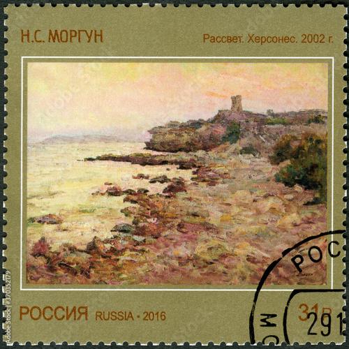 Papel de parede RUSSIA - 2016: shows Dawn Chersonesus 2002 Nikolai Morgun  (born 1944), Contempo
