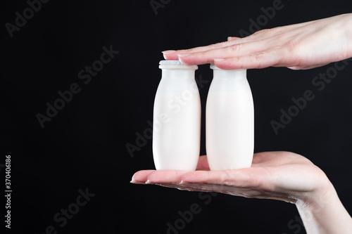 Valokuvatapetti The concept of probiotics and prebiotics