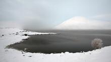 Loch Glascarnoch Winter Fog