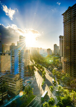 Honolulu Hawaii Beautiful Sunr...