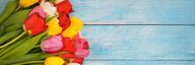 Bright Bouquet Of Multi-colore...