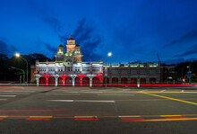 The Central Fire Station Illum...