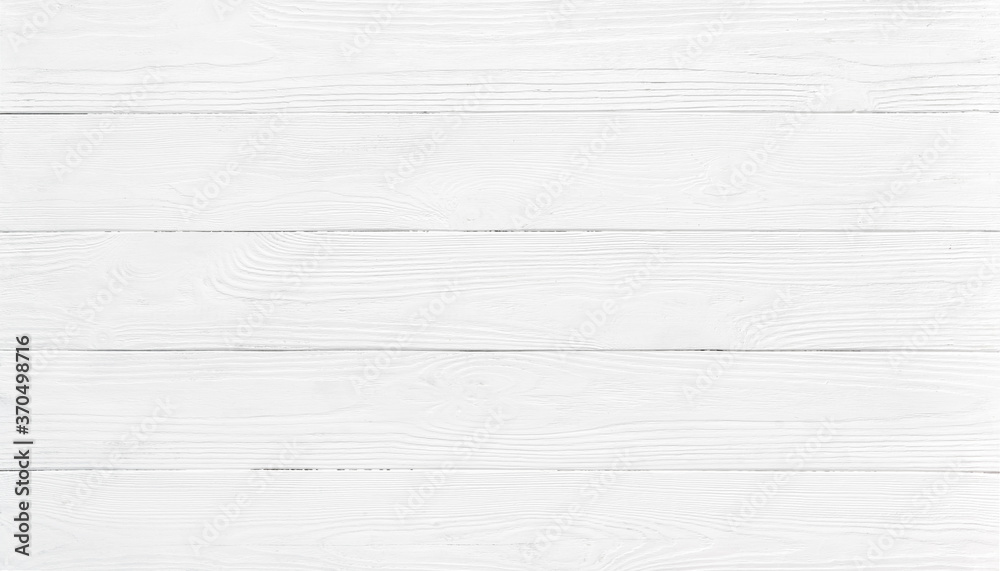 Fototapeta White wood background texture. Background for your design