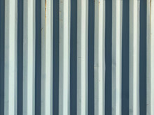 White Bright Shadow Old Corrugated Shipping Container Wall