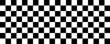 Checkered Flag. Checker Backgr...