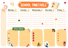 School Planning List. Printabl...
