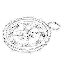 Compass For Navigation And Ori...