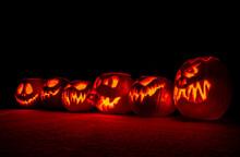 A Motley Crew Of Pumpkins