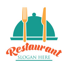 Restaurant Logo With Text Spac...