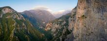 Enipeus Gorge At Mount Olympus...