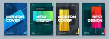 Set Of Brochure Design Cover T...