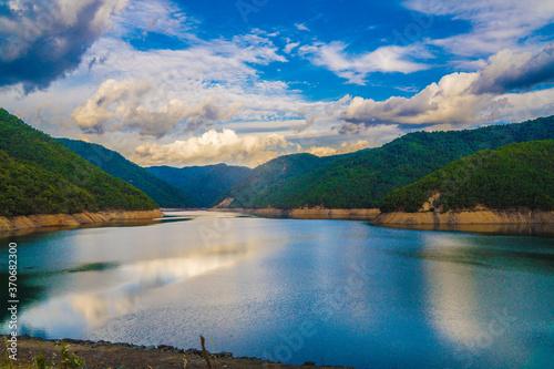 Fototapeta Reservoir in Chile.