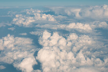 Dense Cumulus Clouds Cover The...