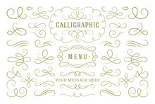 Calligraphic Design Elements V...