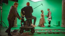 On Film Studio Set Shooting Hi...
