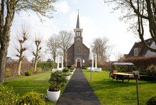 Small Church In The Netherlands Used For Weddings
