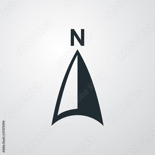 Obraz na plátně Símbolo del norte