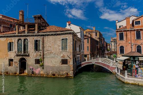 Fototapety, obrazy: Urlaubs- und Italienisches Sommerfeeling in Venedig - Italien/Venetien