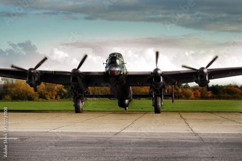 Fotomural Avro Lancaster, heavy bomber