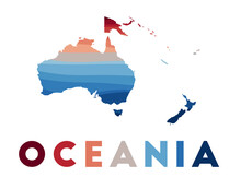 Oceania Map. Map Of The Contin...